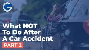 Do Not Fail to Document the Scene of your Car Accident